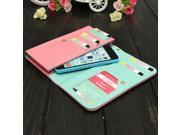Flip Cover Zipper Wallet Purse Case For Samsung Galaxy Note 2 III 3 Mega 5.8 6.3 Samsung Note iPhone5 5s