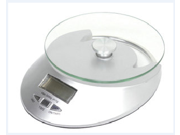 5kg/1g Electronic Kitchen Bench Scale Digital Scale Weigh Food Scale Weight meassure Kitchen Scale with Glass platform