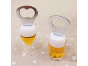 Creative Acrylic Fridge Shape Magnet Beer Bottle Opener