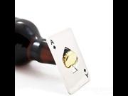 Creative credit Poker card bottle opener stainless steel beer bottle opener Card wine opener Practical Portable Screwdriver