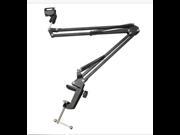 Mic Microphone Suspension Boom Scissor Arm Stand Holder Studio Sound Broadcast