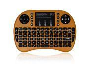 Rii i8+ Touchpad Mouse 15 Meters Wireless 2.4G Mini Keyboard for PC Pad Andriod TV Box PS3 HTPC/IPTV Notebook Smart TV