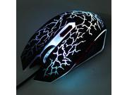 KN-008 6D USB 6 Buttons 2400DPI Adjustable Optical wired Gaming Game Mouse for PC Laptop