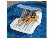 Solstice 15150HR Luxury Cabana Floating Lounger With Canopy