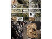 INFANTRY New Abrasion Proof Tactical Assault Camping Sport Bag Rucksack Backpack