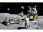 """DRAGON MODELS Dragon Models 1/72 Apollo 17 """"The Last J-Mission"""" - CSM and LM and Lunar Rover"""