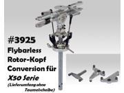 THUNDERTIGRE USA Thunder Tiger 3925 Flybarless Rotor Head Conversion Kit X50