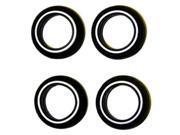 1/24 520 Style Whitewall Tires PGH1016 PEGASUS HOBBIES