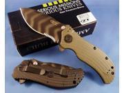 Zero Tolerance ZT0301ST Ranger Green Folder Knife with Speed Safe and Partial Serration ZT0301ST ZERO TOLERANCE