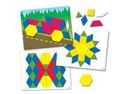Learning Resources Magnetic Pattern Block Activity Set LER1289 LEARNING RESOURCES