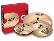 Sabian AAX Stage Performance Cymbal Set Brilliant With Out Bag 25005XB-NB