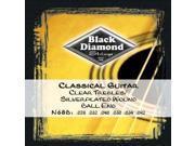 Black Diamond N68B Classical Nylon Guitar Strings - Ball end, 3 Sets N68B BLACK DIAMOND
