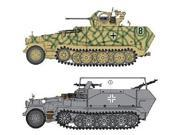 Dragon Models 1/35 Sd.Kfz. 251/17 Ausf.C/Command Version Vehicle Model Building Kit DMLS6592 Dragon Models USA