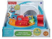 Fisher-Price Roller Blocks Whirlin Train Town CDC13