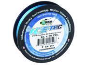 Power Pro 23400150050A Ice-Tec 50-Yard Ice Line, 15-Pound, Blue 135660 Pro-Tec