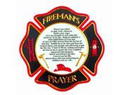Spoontiques Firemans Prayer Stepping Stone 13035