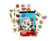 Mickeys Clubhouse Temporary Tattoo Book Party Accessory KMAB Disney