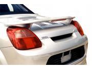 2000 - 2005 MR2/ Spyder JSP®339162 Custom Style Rear  Wing Spoiler w/ LED Primed (Fits: Toyota)