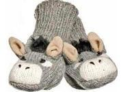Youth/Adult Dwayne The Donkey Mittens by Knitwits - A2140