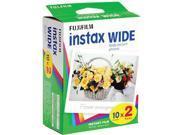 80 Prints Fuji Instant Color Wide Film for Fuji Instax 200 / 210 4 Packs Film