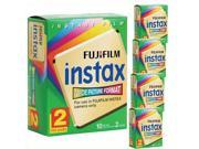 100 Prints Fuji Instant Wide Film F/ Instax 200 / 210