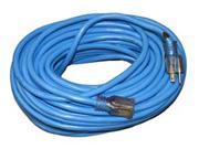 100'Extension Cord 16/3 Amp With Safety Lit End