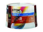 48674 16x Ink-Jet Printable DVD-R Spindle - 50 Spindle