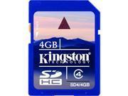 SD4/4GB 4GB SDHC  Memory Card Class 4