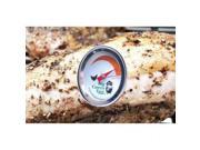 The reusable, stainless steel Button Thermometers clearly display the appropriate temperatures for cooking meats. The Steak Buttons register rare, medium and well done.