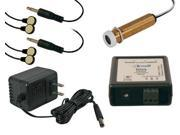 Single Target IR Repeater Kit with White or Gold Peephole Style Receiver