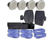 Altec Lansing Complete Six Zone Background Music System