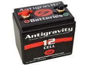 Antigravity Batteries 92-AG-1201 Small Case 12-Cell 13V 12ah 360cca Lightweight Maintenance Free Battery - 3 Year Manufacturer Warranty!