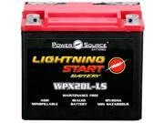 Power Source Batteries WPX20L-LS Lightning Start Sealed Maintenance Free Battery (YTX20L-BS Replacement) 01-352P - 1 Year Manufacturer Warranty!