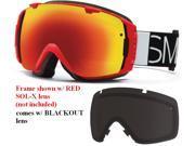 Smith Optics Vaporator Series I/O Snow/Ski Goggles - Fire Blockhead with Blackout Lens