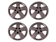 Set of 4 Silver 16 Inch Chevy Cruze & HHR Hubcaps for a Bolt On Retention System - Aftermarket: IWC459/16S