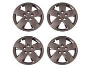 Set of 4 Chrome 16 Inch '07 & '08 Nissan Altima Replacement Bolt On Retention System Hubcaps : IWC437/16C