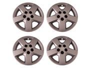 Set of 4 Silver 16 Inch Chevy HHR & Malibu Replacement Bolt On Retention System Hubcaps - Aftermarket: IWC440/16S