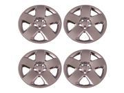 Set of 4 Chrome 17 Inch 5 Spoke Dodge Charger /Magnum Hubcaps w/ Bolt On Retention System - Aftermarket: IWC458/17C
