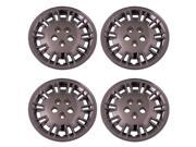 Set of 4 Chrome 17 Inch Aftermarket Replacement Hubcaps for a Bolt On Retention System - Aftermarket Part: IWC427/17C