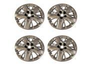 "Set of 2014 Chevy Impala Aftermarket Lug Bolt on 18"" inch Hub Cap Wheel Covers"