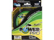 Power Pro Micro Braid Bass Fishing Line 31100300300T 100 lb X 150 Yd Yellow