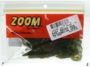 Zoom Fishing Bait 042-019 Super Salt+ Baby Brush Hog Watermelon Seed