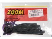 Zoom Soft Plastic Bass Fishing Bait 026-005 Super Salt+ Ol' Monster Worm Junebug