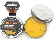 Exotac ET2120HOT Candletin Emergency Heat Survival Candle Hot Burning Version