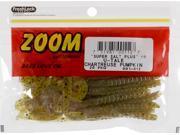 Zoom Bass Fishing Bait 001-012 Super Salt+ U-Tale 20 PK Chartruese Pumpkin