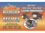 Smokehouse 9990-0000000 Luhr Jensens Smoker Instruction Book W/ 50 Great Recipes