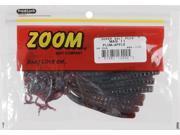 "Zoom Bass Fishing Bait 009-113 9"" Super Salt+ 9"" Magnum II Worm Plum-Apple"