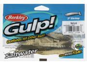 "Berkley Gulp! Saltwater Shrimp - 3""  Natural Shrimp (NAT)"