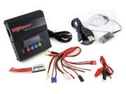 Combo: Tenergy TB6AC 50W/5A AC/DC Dual Power Balance Charger + PC Battery Monitor Software Kit