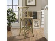 Gear Bar Stool in Natural